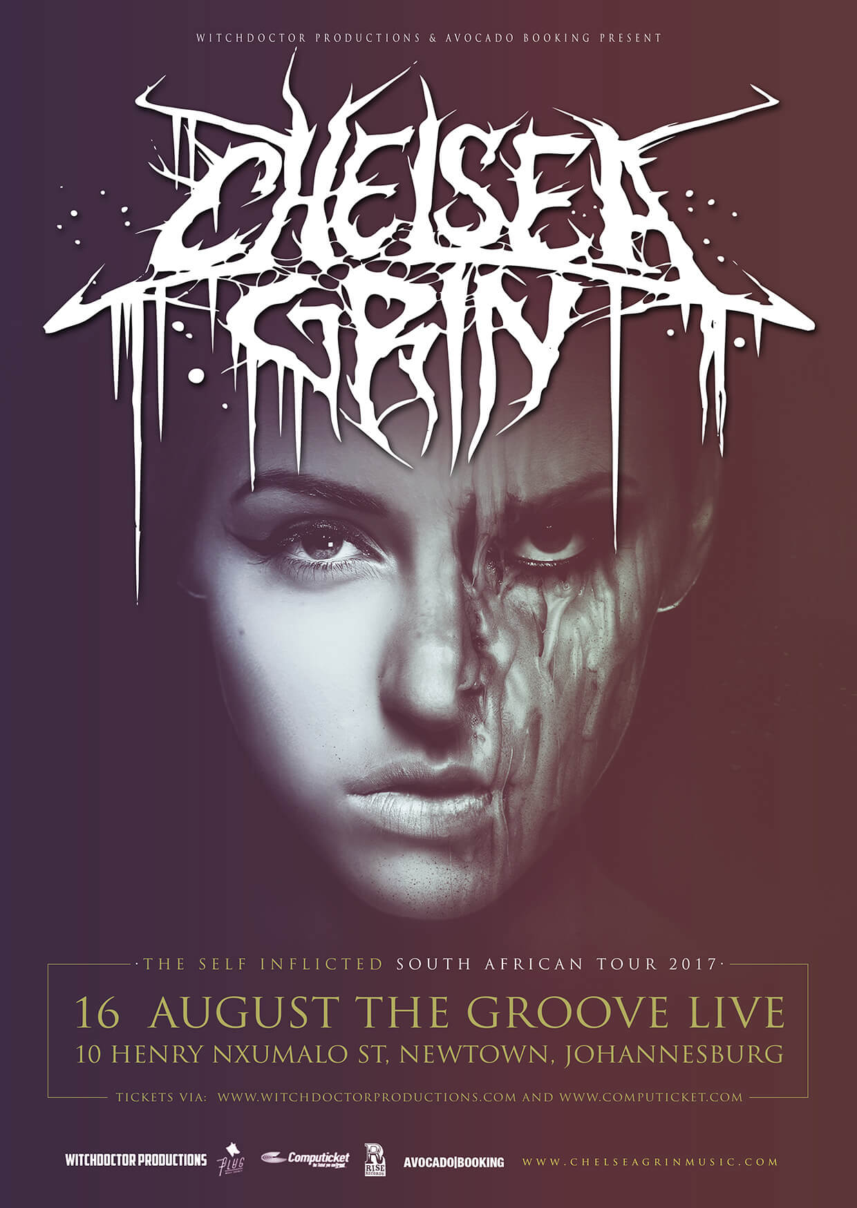 Chelsea Grin Self Inflicted Tour Tickets